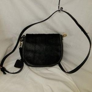 # B8,598 Innue Animal Hair Shoulder Bag